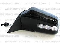 Зеркала наружные 3287A Black глянец, с рег. и повторителем поворотов, фото 1