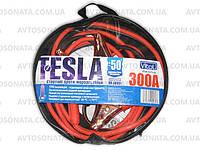Провода прикуривателя  300 А 3м в чехле Tesla (-50°С)