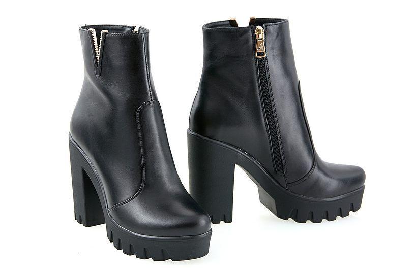 Ботинки женские (кожа)  / women's shoes made of genuine leather 80175-03-01