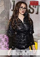 Красивая женская куртка на синтепоне ST-Style