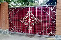 Кованые распашные и откатные ворота