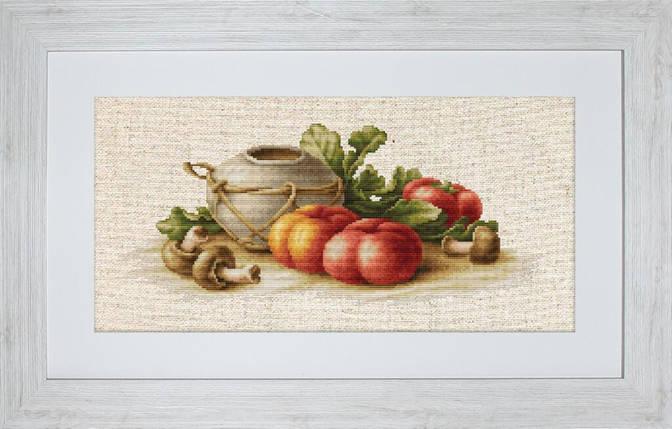 """Набор для вышивания нитками  """"Натюрморт с овощами"""", фото 2"""