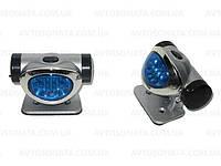 Подсветка-фонарь наружная KL-26 2x7LED Blue овал