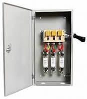 Ящик разрыва с рубильником и предохранителем влагозащищенный ЯРП 100 IP54