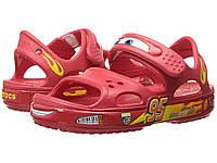 Сандалии босоножки Crocs Boys' Crocband II Cars Sandal Крокс 29 размера (C12), фото 1