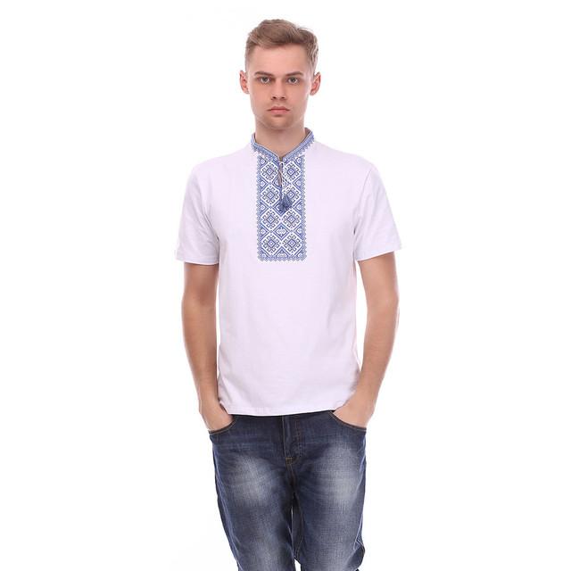 мужская-футболка-белая 30013