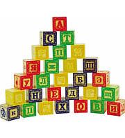 Обучающие чтению кубики (16шт.)