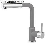 AquaSanita Modus 2383 одноважільний кухонний змішувач з висувним душем, фото 8