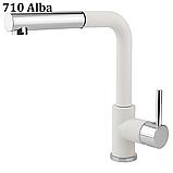 AquaSanita Modus 2383 одноважільний кухонний змішувач з висувним душем, фото 4