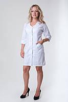 Класический белый медицинский халат
