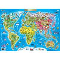 Зірка Дитяча Карта Світу А1