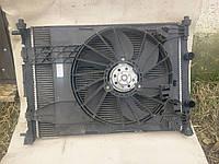 Диффузор + вентилятор Renault Megane