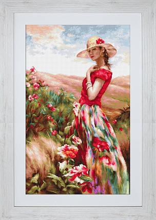"""Набор для вышивания нитками  """"Цветущее место"""", фото 2"""