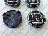 Колпачки в диски Brabus (черные), фото 6