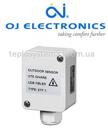 Датчик температуры воздуха (наружный) ETF - 744/99 OJ Electronics (Дания), фото 2