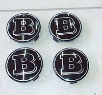 Колпачки в диски Brabus (черные), фото 1