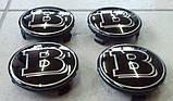 Колпачки в диски Brabus (черные), фото 2
