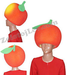 Карнавальна маска Яблуко
