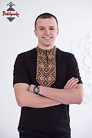 Чоловіча вишиванка Повстанська золота, фото 1
