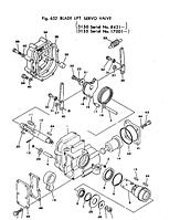 Сервоклапан подъёма отвала Komatsu D150A, D155A, D355A, D80A, D80E, D80P, D85, 702-12-13001, 7021213001