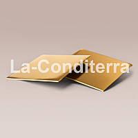 Усиленные квадратные подложки для тортов (40x40 см, толщина 8 мм, золотистые)