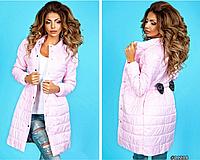 Женское пальто из плащевки на синтепоне ST-Style