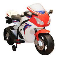 Детский электромобиль мотоцикл Geoby W310
