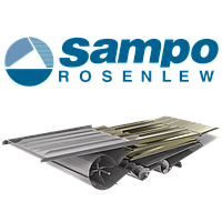 Нижнее решето Sampo-Rosenlew Comia C10 (Сампо Розенлев Комия Ц10) на комбайн