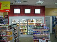 Новое торговое оборудование стеллажи WIKO (ВИКО) в магазин при АЗС. Торговые стеллажи АЗС, фото 1