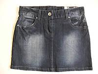 Юбка джинсовая для девочки 8 - 9 лет