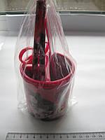 Подставка, стакан для ручек и карандашей пластик