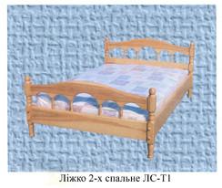 Кровать двухспальная классический стильЛС-Т1