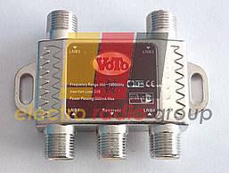 Разветвитель (Splitter) 4-way Alda, корпус металлический