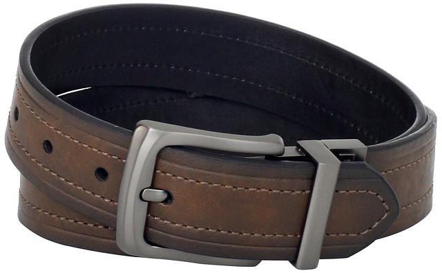 Ремень Levi's Men's Levis 40MM Reversible Belt With Gunmetal Buckle NEW