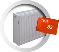 Стальной панельный радиатор Sanica 500*1800 33 тип