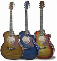 Акустическая гитара MAXTONE WGC400N (CSB)