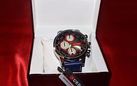 Элегантные и прочные мужские часы Curren Red, наручные часы curren, мужские кварцевые часы curren