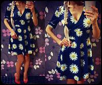 """Красивое платье """"Ромашки"""". Расцветки"""
