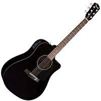 Электроакустическая гитара FENDER CD-60CE BK