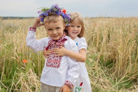 Детские вышиванки
