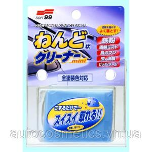 Глина для очистки кузова Soft99 Surface Smoother Mini, 100g