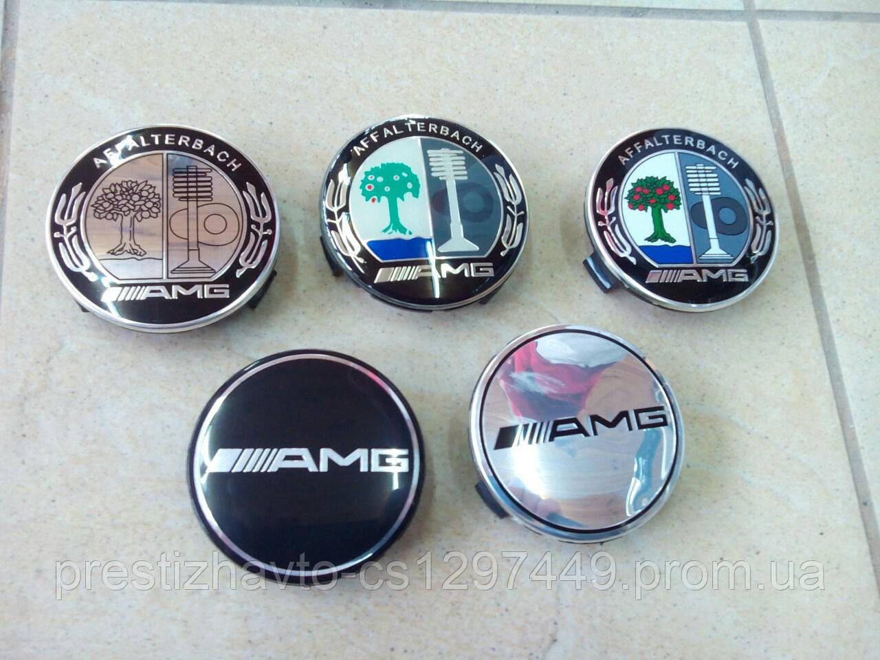 Колпачки в диски AMG (1ШТ.)