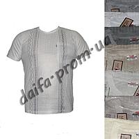 Мужская футболка лен M1m с нагрудным карманом (в уп. до 5 расцветок) оптом со склада в Одессе