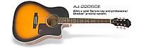 Электроакустическая гитара EPIPHONE AJ-220SCE VS