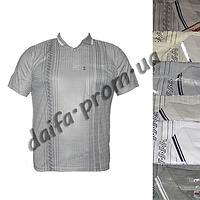Мужская футболка поло M107m  с нагрудным карманом (в уп. до 5 расцветок) оптом со склада в Одессе