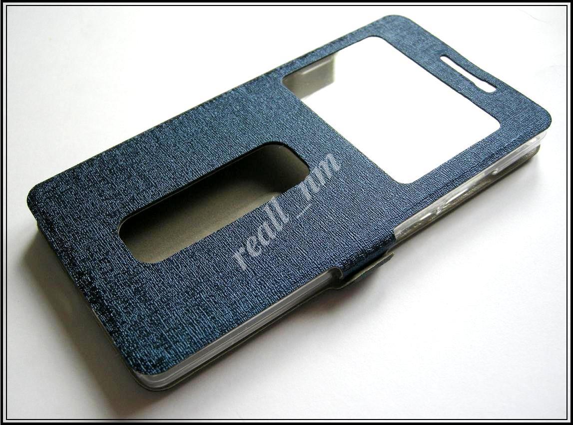 Синий чехол-книжка Silk MC для смартфона OnePlus 2