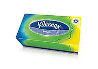 Kleenex салфетки в коробке Бальзам 80 шт