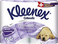 "Kleenex туалетная бумага ""Премиум Комфорт"" 4 рулона"