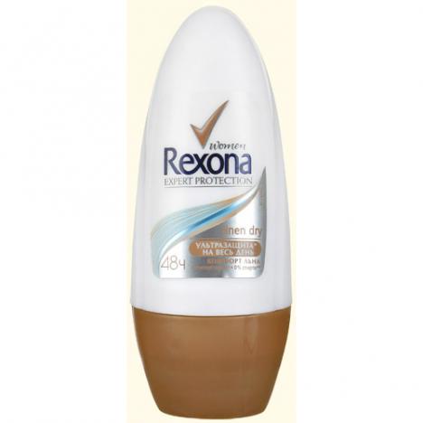 Rexona дезодорант антиперспирант ролликовый Комфорт льна 50мл