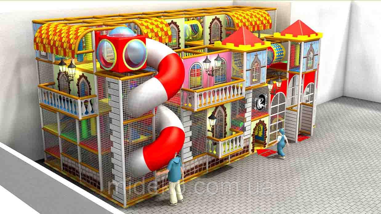 Игровой лабиринт «Старинный город»